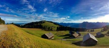 Campagna austriaca rurale Fotografia Stock Libera da Diritti
