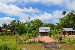 Campagna cambogiana, Siem Reap, Cambogia Fotografia Stock