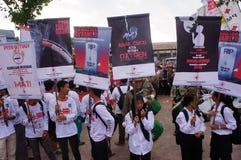 Campagna contro il fumo Immagine Stock Libera da Diritti