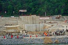 Campagna, Corea del Nord Immagini Stock