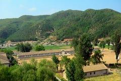 Campagna, Corea del Nord Immagine Stock Libera da Diritti