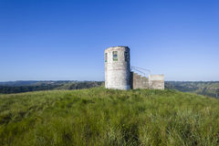 Campagna della sommità della torre dell'allerta Fotografie Stock