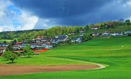 Campagna della Svizzera Fotografia Stock Libera da Diritti