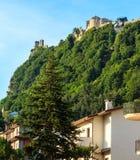 Campagna della Toscana, San Gimignano, Italia Fotografie Stock