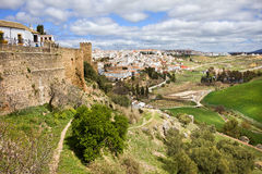 Campagna di Andalusia e di Ronda Immagine Stock Libera da Diritti