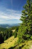 Campagna di autunno in Slovacchia del Nord Fotografie Stock