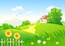 Campagna di estate royalty illustrazione gratis