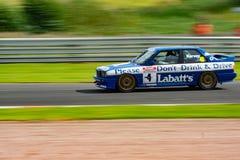 Campagna di guida in stato di ebbrezza di BMW Labatts Immagine Stock
