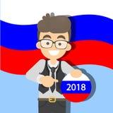 campagna elettorale 2018 Fotografie Stock Libere da Diritti