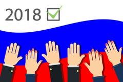 campagna elettorale 2018 Immagine Stock Libera da Diritti