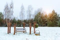 Campagna lituana, Griezpelkiai Fotografia Stock Libera da Diritti