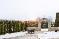 Campagna lituana, Griezpelkiai Immagini Stock