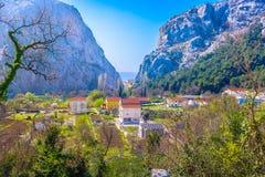 Campagna nella regione della Dalmazia, Croazia Immagine Stock Libera da Diritti