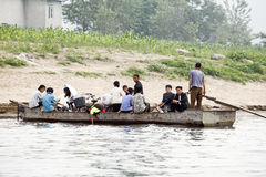 Campagna nordcoreana Fotografia Stock Libera da Diritti