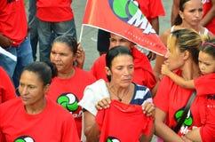 Campagna politica di Capo Verde Fotografie Stock Libere da Diritti