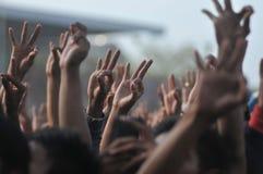 Campagna politica in Indonesia Fotografia Stock