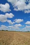 Campagna rurale Fotografia Stock