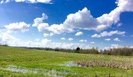 Campagna rurale di Latgalian Immagine Stock Libera da Diritti