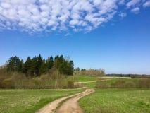 Campagna rurale lettone Immagine Stock Libera da Diritti