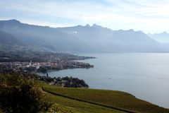 Campagna svizzera Immagine Stock