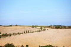 Campagna toscana, paesaggio italiano Immagine Stock