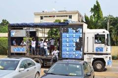 Campagne électorale Images libres de droits