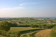 Campagne autrichienne autour de Strengberg Image libre de droits