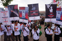 Campagne contre le tabac Image libre de droits