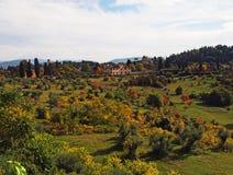 Campagne de la Toscane photos libres de droits