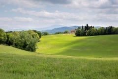 Campagne de la Toscane Image libre de droits
