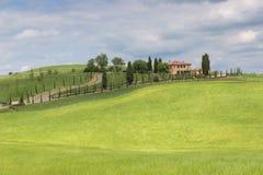 Campagne de la Toscane Photos stock