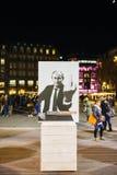 Campagne de leaders mondiaux de Reporters Without Borders Image stock