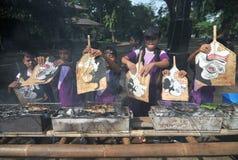 Campagne de manger des poissons Photo libre de droits