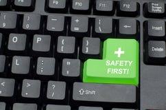 Campagne de sécurité Photographie stock libre de droits