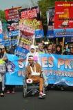 Campagne de santé en Indonésie Photographie stock