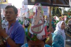 CAMPAGNE DE TEGEN HET ROKEN VAN INDONESIË Stock Afbeeldingen