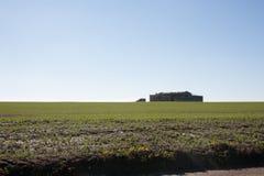 Campagne, een open gebied, heuvels Stock Fotografie