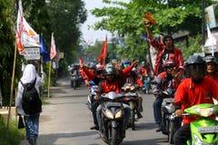 Campagne indonésienne de partie de lutte de démocratie Photo libre de droits