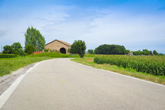 Campagne italienne photographie stock