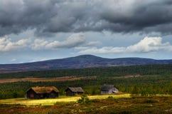 Campagne Oppland de la Norvège Photos libres de droits