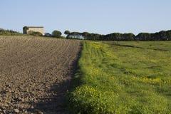 Campagne Quartu - Sardinige Stock Foto