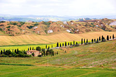 Campagne toscane Photos stock