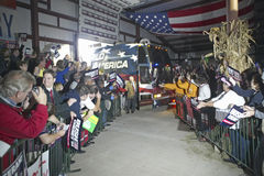 Campaign rally in Ohio Stock Image