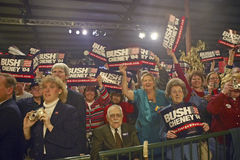 Campaign rally in Ohio Royalty Free Stock Image