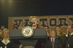 Campaign rally in Ohio attended by  Dick Cheney Royalty Free Stock Image