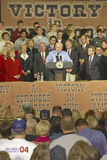 Campaign rally in Ohio attended by  Dick Cheney Stock Photography