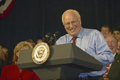 Campaign rally in Ohio attended by Vice Presidential candidate Dick Cheney, 2004 Stock Photo
