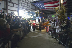 Campaign rally in Ohio attended by Vice Presidential candidate Dick Cheney, 2004 Stock Photography
