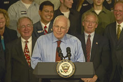 Campaign rally in Ohio attended by Vice Presidential candidate Dick Cheney, 2004 Stock Images