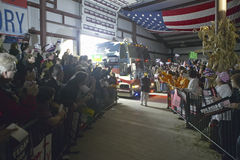 Campaign rally in Ohio attended by Vice Presidential candidate Cheney, 2004 Royalty Free Stock Photos